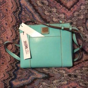 NWT Lexington Crossbody Purse Sea Foam Green